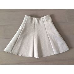 Light Grey Pleated Skirt Light Grey Pleated Skirt with a stretchy thicker cotton material. Super cute and comfortable. Never worn, great condition. Size XS but can fit a small. H&M Skirts Mini