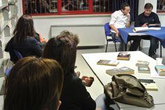 """#lettidinotte in @BMTCampobasso con Mario Cecere che ci ha parlato di """"Riflessioni di Robinson davanti a centoventi baccalà"""", di Manuel Vázquez Montalbán"""