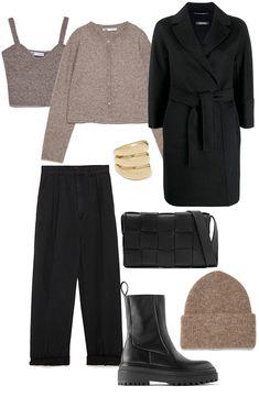 Winter Fashion Casual, Autumn Winter Fashion, India Fashion, 90s Fashion, Winter Outfits For Work, Fall Outfits, Modern Outfits, Minimal Fashion, Outfit Sets