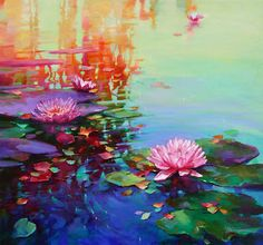 Mike Philbin's free planet blog: Sunday morning - Art gallery - Donna Young