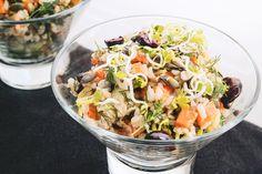 Ensalada de Arroz Integral y Germinados | http://sutobu.es/recetas-cocina/recetas-veganas/ensaladaarroz-integral-germinados/