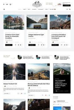 Find Out About Simple Web Design Strategies. Site Web Design, Blog Website Design, Wordpress Website Design, Web Design Services, News Website, Page Design, News Web Design, Ui Design, Website Design Inspiration