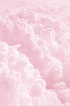 Pastel pink clouds