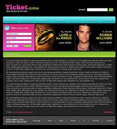 Tickets Online Website Templates by Di Tickets Online, Website Template, Make It Yourself, Templates, Grief, Stencils, Western Food