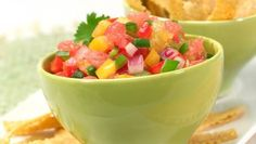 Texas Citrus Salsa (fat-free salsa with grapefruit and orange sections)