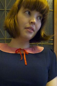 reversible peter pan collar tutorial. Looks like we're on to a winner!