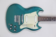 1966 Gibson SG Melody Maker Pelham Blue - Vintage & Modern Guitars