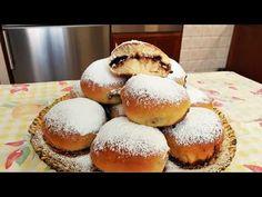 ΝΤΟΝΑΤΣ ΣΤΟΝ ΦΟΥΡΝΟ!! - YouTube Greek Recipes, Candy Recipes, Doughnuts, Muffin, Food And Drink, Cooking Recipes, Sweets, Cookies, Chocolate