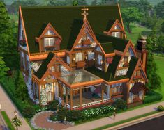 A house I built in Newcrest : thesims Lotes The Sims 4, Sims Four, Sims Cc, Sims 4 House Plans, Sims 4 House Building, Sims 4 House Design, Casas The Sims 4, Sims 4 Cc Packs, Sims 4 Build