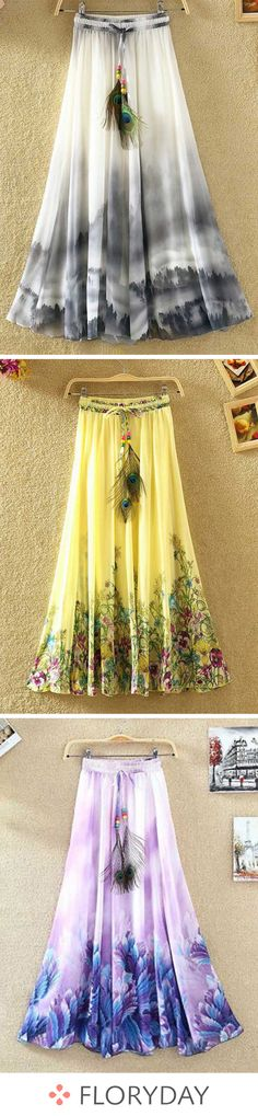 Buy Skirts, Online Shop, Women's Fashion Skirts for Sale Hippie Chic Outfits, Boho Outfits, Cute Outfits, Skirt Fashion, Boho Fashion, Fashion Dresses, Womens Fashion, Moda Chic, Skirts For Sale