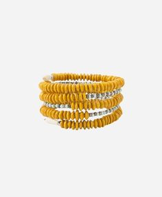 Damalie Bracelet Noonday collection  - Proof That Yellow Looks Absolutely Amazing On Curvy Brown-Skinned Girls