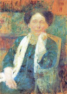 Olga Boznańska-Portret kobiety