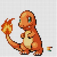 Pixel Art Templates Hard Pokemon | galleryhip.com - The Hippest ...