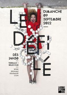 Biennale de la danse de Lyon, Le défilé