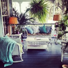 """""""The perfect Savannah porch…just add a cocktail!"""""""