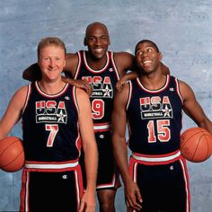 onetinyhand:    larry bird, michael jordan & magic johnson.