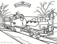 free printable chuggington coloring page - Chuggington Wilson Coloring Pages