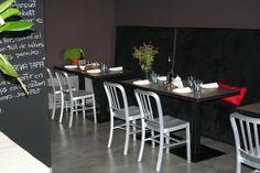 Restaurant floor Conference Room, Restaurant, Flooring, Table, Furniture, Home Decor, Decoration Home, Room Decor, Diner Restaurant
