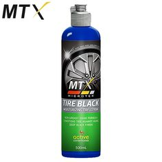 Non-greasy Model: MA-T500 Shine formula Conditions Tire against aging Deep Black Finish 500mL Active Conditioner Moisturizing Tire Anti-dust Prevents Cracking Contains: Silicone fluids, Emulsifiers, Conditioning agent
