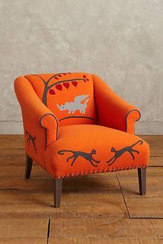 Folkthread Fauntastique Armchair
