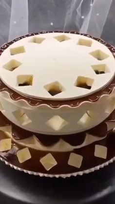 Cake Icing Tips, Cake Decorating Frosting, Cake Decorating Designs, Cake Decorating Videos, Cake Decorating Techniques, Cake Designs, Cookie Decorating, Peppermint Cake, Crazy Cakes