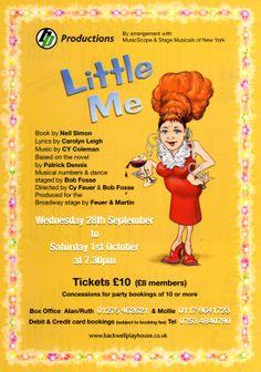 Little Me Poster - Sept 2011