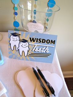 Wisdom tooth (Guests write a note of encouragement/wisdom for the grad!) We encourage you for better oral health and overall wellbeing http://blog.dmsmiles.com/dental-exam-reveals-lot-overall-health/ Little Bristles | #Salinas | #CA | http://www.littlebristlespediatricdentistry.com/