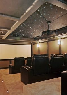 Home Cinema.  Watch the stars on screen under the stars overhead!  We can add this magic for you!