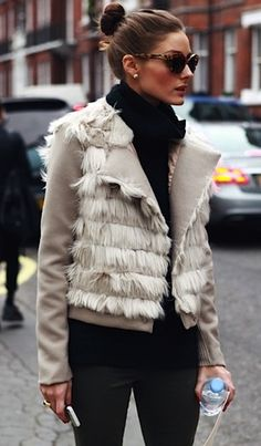Olivia Palermo's coat - finding the perfect statement piece for every outfit