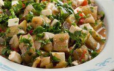 Karatay Yemekleri: Peynirli Yaz Türlüsü Kung Pao Chicken, Potato Salad, Healthy Eating, Cheese, Ethnic Recipes, Foods, Diets, Healing, Summer