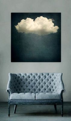 I really need a cloud picture in my home. This one is perfect. Ⓔ & Ⓔ