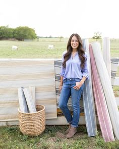 Joanna Gaines' new rug collection for Magnolia Home is here.