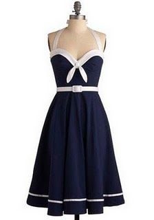 I love this dress from Modcloth, I could make it using pattern Butterick 5599...