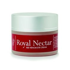 Royal Nectar Bee Venom Eye Cream is specially formulated to apply to the sensitive skin around the eyes Manuka Oil, Manuka Honey, Chamomile Oil, House Of Beauty, Green Tea Extract, Eye Treatment, Flower Oil, Sweet Almond Oil, Vitamin E