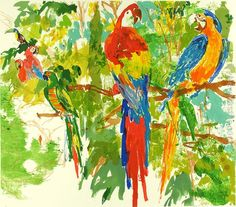 Leroy Neiman: Birds of Paradise