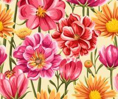 Vintage flower patterns vector graphics 06