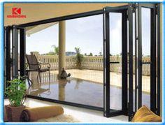 Most Popular Aluminium Folding Door (KDSF138)