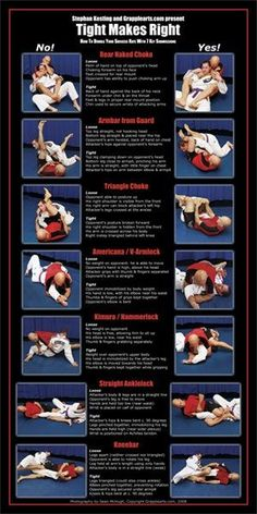 Jiu Jitsu Submissions Poster 7 Top submissions Poster - 300x600 - jpeg
