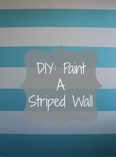 gray striped walls Below you will find our step by step directions for painting stripes on walls . We decided to paint striped walls for our new nursery. Striped walls make for a gre Painting Stripes On Walls, Paint Stripes, Bold Stripes, Yellow Stripes, Blue Yellow, Pink White, Orange, Big Girl Rooms, Boy Room