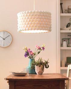 Pingpongowa lampa   Wkręceni w dom