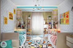 Уютная квартира | А два лучше! Как правильно обустроить интерьер комнаты для двоих детей?
