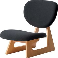 By Daisaku Choh (b. Furniture Direct, Modern Furniture, Furniture Design, Love Chair, Chair Bench, Japanese Design, Cool Rooms, Chair Design, Home Accessories