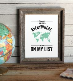 Everywhere Quote Print | Words of wisdom from the Susan Sontag are artfully arranged on... | Posters