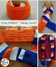 Free crochet scarf p