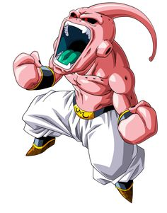 DBZ Majin Buu Saga Lineart By krizeii & Colour By maffo189