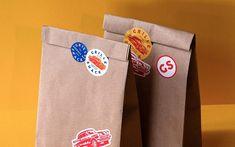 The Grille Shack Restaurant Branding & Menu Design by MADE Agency - Grits & Grids® Bar Restaurant Design, Restaurant Branding, Logo Branding, Brand Identity, Branding Design, Product Branding, Packaging Box, Food Packaging Design, Packaging Design Inspiration