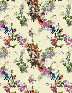 Floral on Behance Flora Flowers, Small Flowers, Colorful Flowers, Beautiful Flowers, Flower Background Wallpaper, Flower Backgrounds, Wallpaper Backgrounds, Pattern Art, Print Patterns