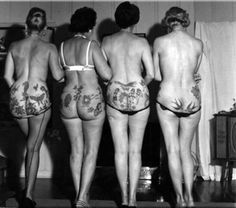 Rear view tattoos