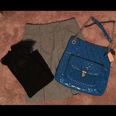 Coach shoulder bag Coach turquoise patent leather shoulder bag...like new! Coach Bags Shoulder Bags