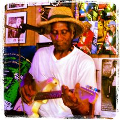 """When I grow up, I want to be a 93-yr-old, blues playing, juke joint owner like """"Gip"""" Gipson! Super cool guy with a killer juke in Bessemer, Alabama."""